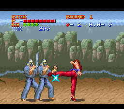 494697-ultimate-fighter-snes-screenshot-multiple-enemiess