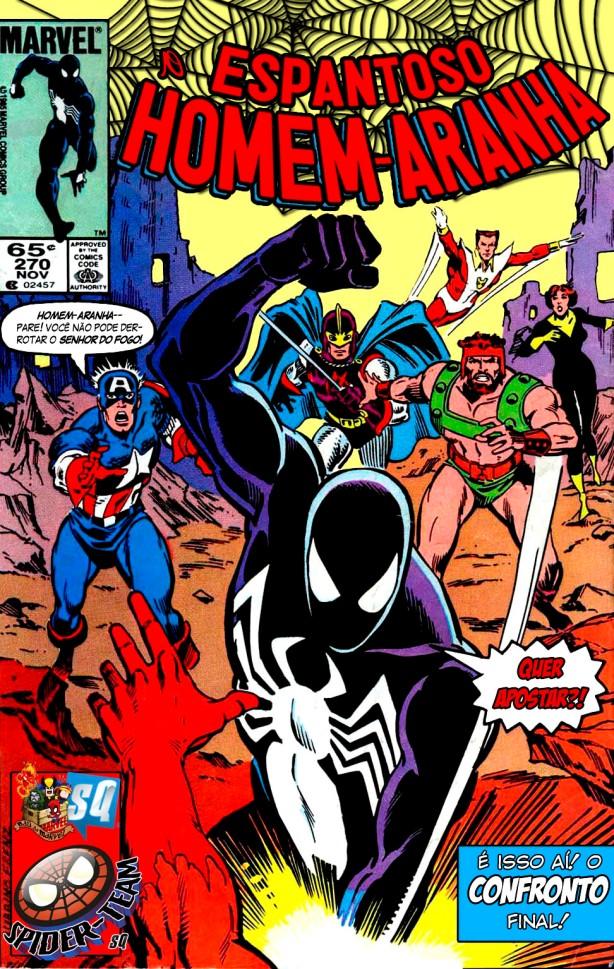 Espantoso Homem-Aranha #270 (1985) (ST-SQ)-001
