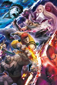 SFXT-Street-Fighter-X-Tekken-Official-Game-Art-TGS-Poster