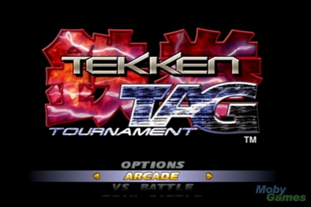 Tekken Tag original Logo